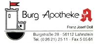 Burg-Apotheke Lahnstein