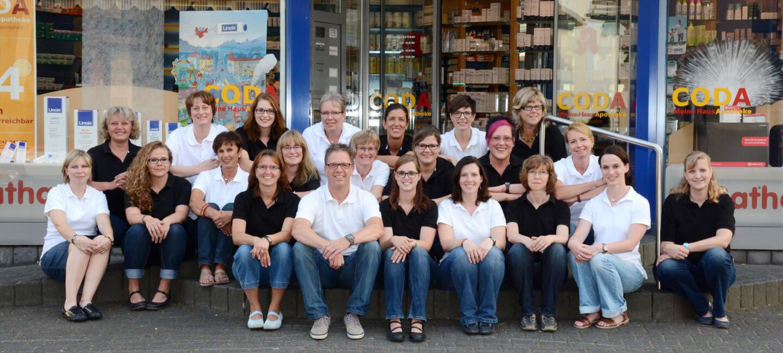 Team-Foto Rathaus-Apotheke Simmerath